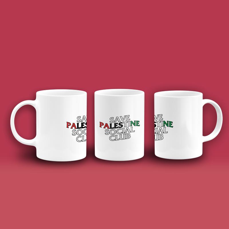 Save Palestine Social Club Palestine Edition - SM01