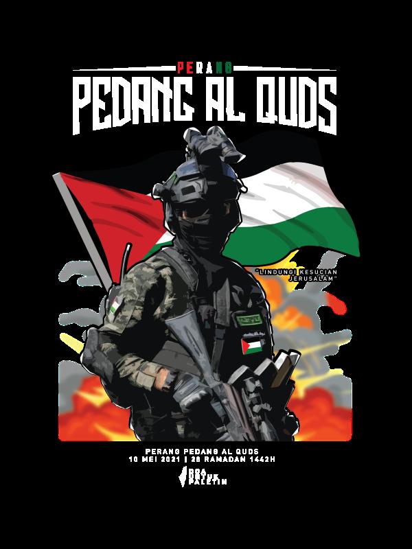 Pedang Al-Quds Black Palestine Edition - CT51