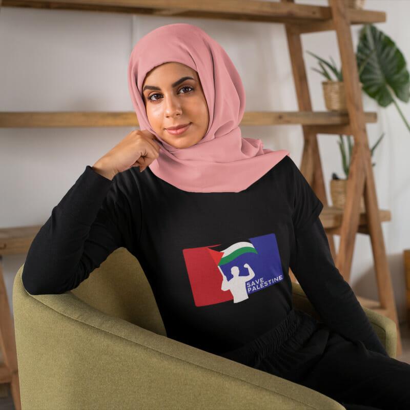 Save Palestine Black Palestine Edition - CT51