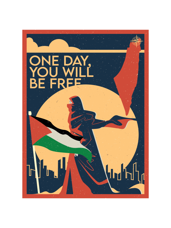 One Day, You Will Be Free Palestine Edition - TB01