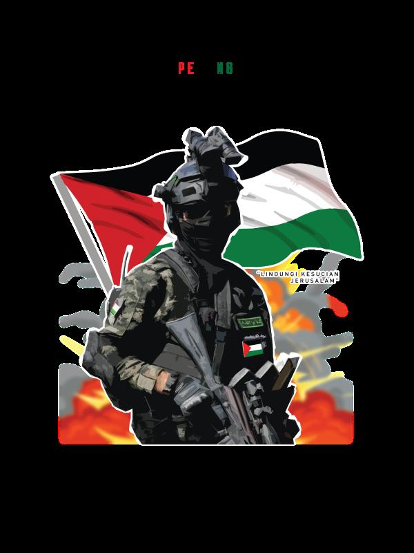 Pedang Al-Quds White Palestine Edition - CT51