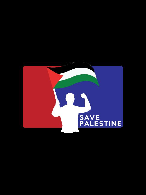 Save Palestine White Palestine Edition - CT51